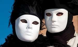 Masken Karneval Venedig 2014