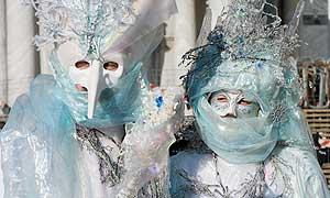 Kostüme und Masken im Karneval Venedig 2014