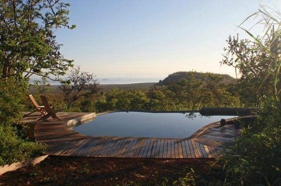 Infinity Pool Isla de Santa Cruz Galapagos, Ecuador