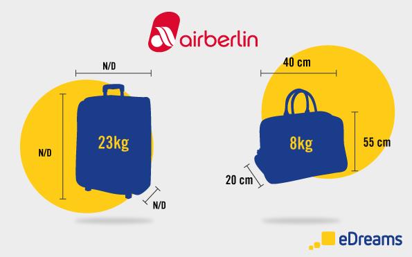 airberlin Gepäckbestimmungen