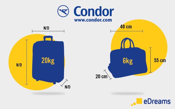 Handgepäck Condor