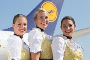 Lufthansa Trachten