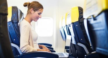 "WLAN im Flugzeug – ""on the cloud"""