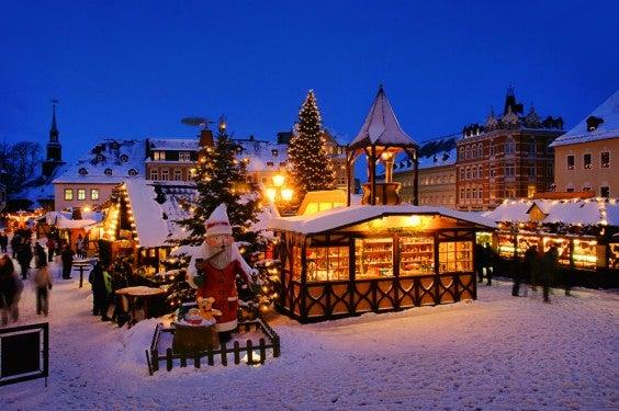 Wohin fliegen wir Deutschen in den Weihnachtsferien ...