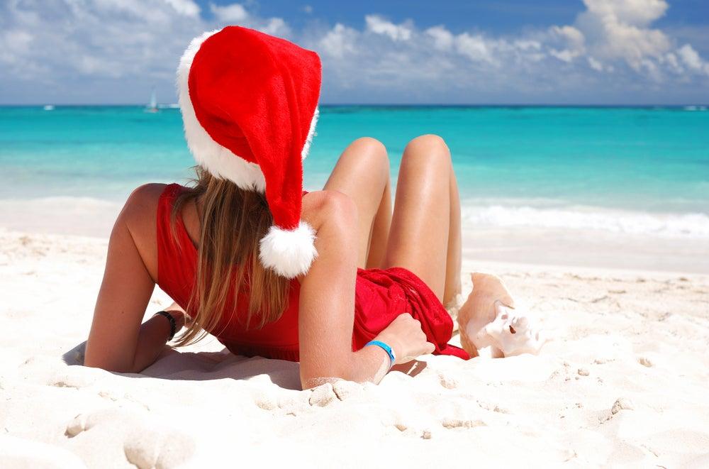 weihnachten-am-strand