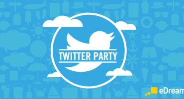 Twitter Party #eDreamsParty! Alle 6 Minuten verlosen wir einen Preis!