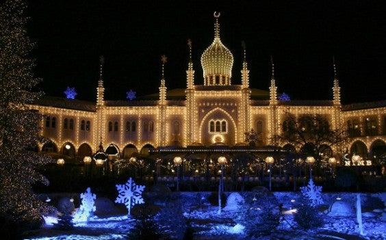 Weihnachtsmarkt Tivoli Kopenhagen