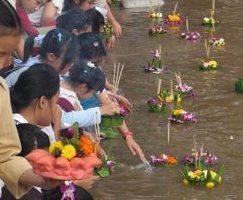 Loy Krathong in Bangkok – Festival des Lichts