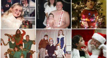 Die seltsamsten Familienfotos zu Weihnachten