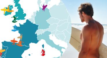 Die besten Strände zum Surfen in Europa