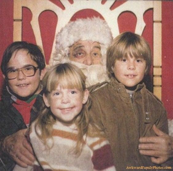 Seltsame Weihnachtsfotos