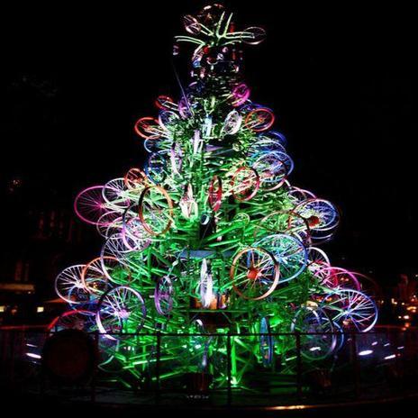 Weihnachtsbaum Sydney Fahrraeder
