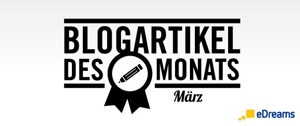 Blogartikel des Monats: März