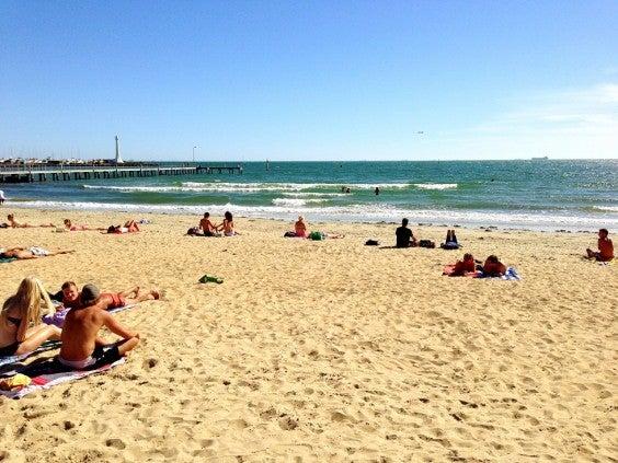 Strand von Melbourne