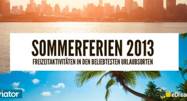 Studie: Freizeitaktivitäten im Sommerurlaub 2013