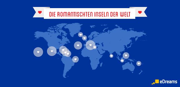 Die romantischsten Inseln der Welt