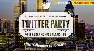 Twitter Party #CityDreams! 1 von 10 tollen Preisen gewinnen!