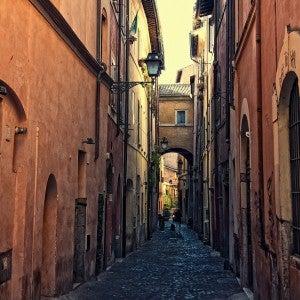 Vicolo in Rom