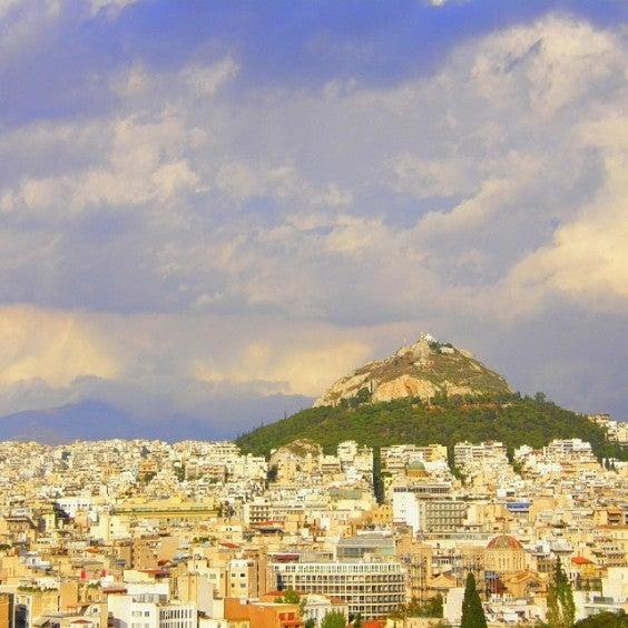 Berg Lycabettus Athen