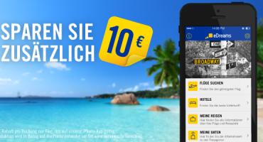 Flüge günstiger buchen mit der eDreams iPhone App
