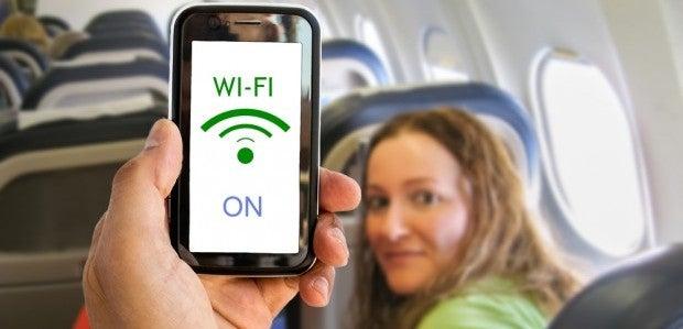 WLAN im Flugzeug