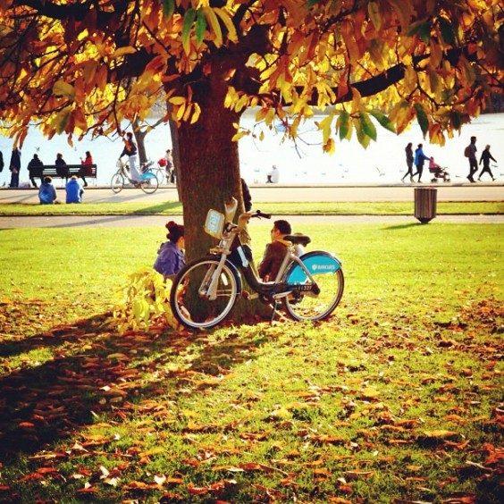 hyde park fahrrad london