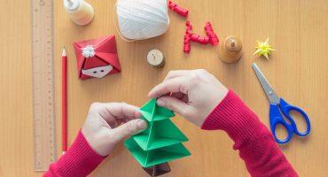 Basteln für Weihnachten: Von einfach bis schwer