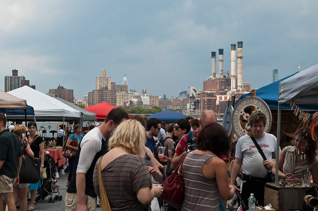 die 10 besten plätze in new york low budget, brooklyn flea market east river williamsburgh