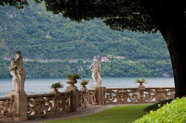 drehorte star wars italien Villa Balbianello padme balkon