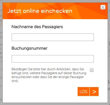 easyjet online check-in