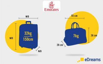 emirates gepäck