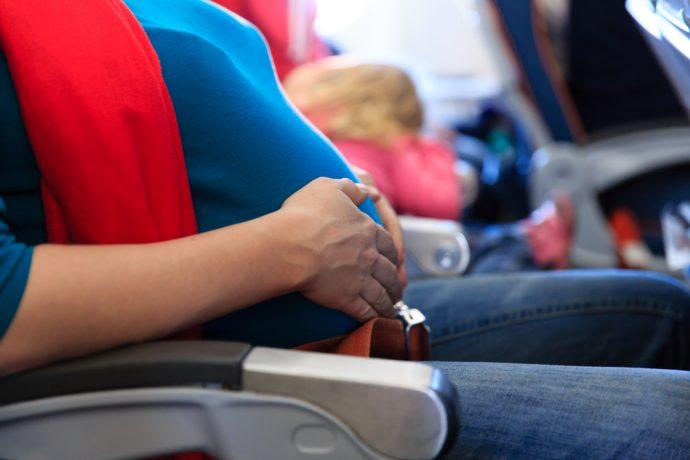 schwanger fliegen, fliegen in der schwangerschaft