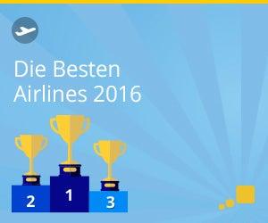 Die besten Airlines 2016